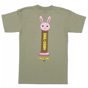 BAIT x Bleach Men Soul Candy Tee (green / safari)