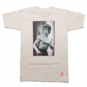 BAIT x Bruce Lee Men The Legendary Master Tee (white / natural)