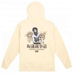 BAIT x Bruce Lee Men Superior Techniques Hoody (yellow)