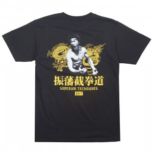 BAIT x Bruce Lee Men Superior Techniques Tee - Reissue (black)