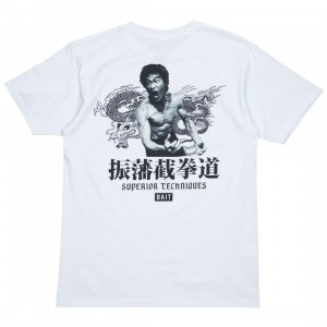 BAIT x Bruce Lee Men Superior Techniques Tee - Reissue (white)