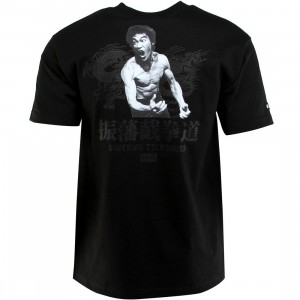 BAIT x Bruce Lee Superior Techniques Tee (black / black)