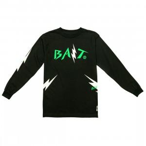 BAIT Men Bolt Long Sleeve Tee (black / green)