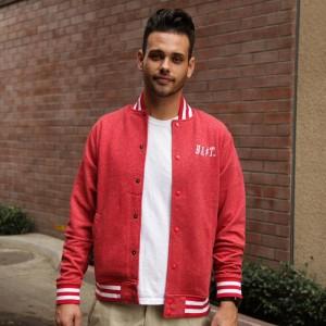 BAIT Baseball Jacket (red)