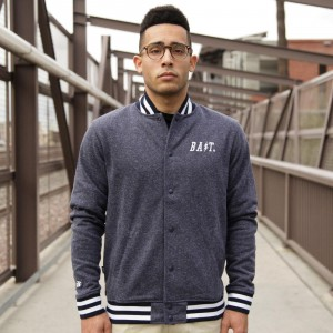 BAIT Baseball Jacket (navy)