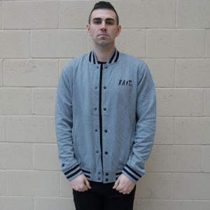 BAIT Baseball Jacket (gray)