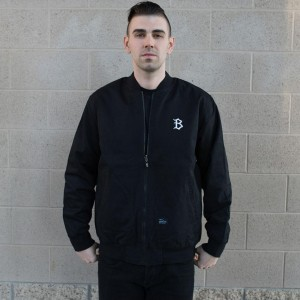 BAIT Reversible Work Jacket (black / oxford black)