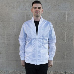 BAIT Nylon Track Jacket (white)