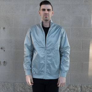 BAIT Nylon Track Jacket (gray)