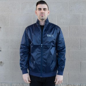 BAIT Nylon Track Jacket (navy)