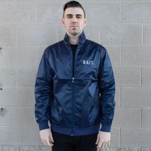 BAIT Nylon Track Jacket (navy)