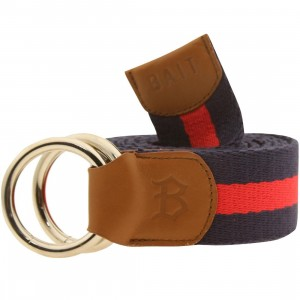 BAIT O-Ring Belt (navy / red)