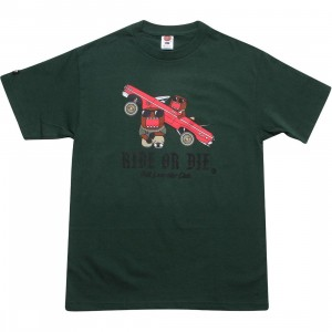 BAIT x Domo Low Rider Tee (hunter green)