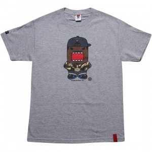 BAIT x Domo Rapper Tee (athletic heather)