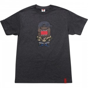 BAIT x Domo Rapper Tee (charcoal heather)