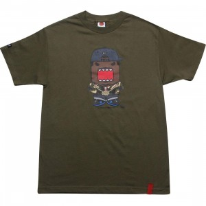 BAIT x Domo Rapper Tee (military green)