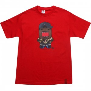 BAIT x Domo Rapper Tee (red)
