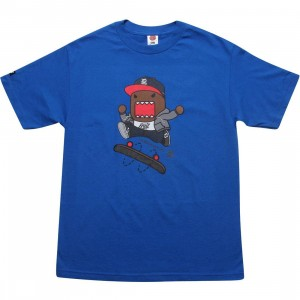 BAIT x Domo Skate Tee (royal blue)
