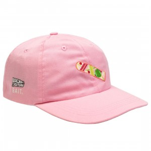 BAIT x Back To The Future Hoverboard Dad Cap (light pink)