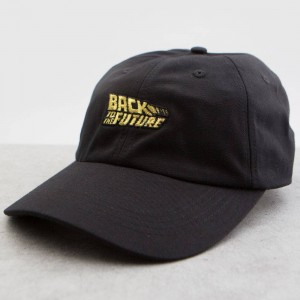 BAIT x Back To The Future Logo Dad Cap (black)