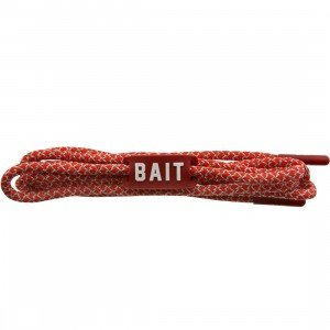 BAIT Deluxe 3M Rope Shoelaces (red / 3M / red)