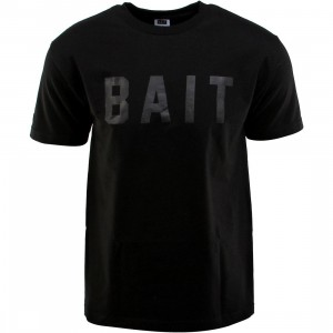 BAIT Logo Tee (black / black)
