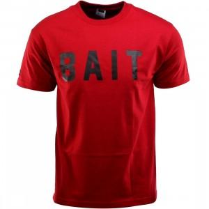 BAIT Logo Tee (red / cardinal red / black)