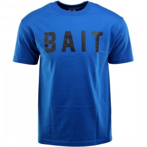BAIT Logo Tee (blue / royal blue / black)