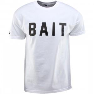 BAIT Logo Tee (white / black)