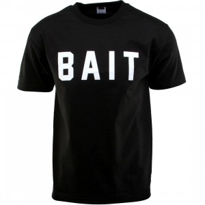 BAIT Logo Tee (black / white)
