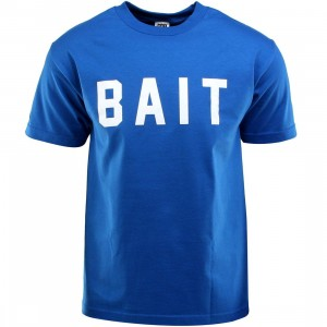 BAIT Logo Tee (blue / royal blue / white)