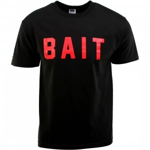 BAIT Logo Tee (black / red)