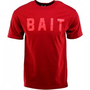BAIT Logo Tee (red / cardinal red / red)