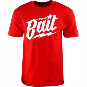 BAIT Superior BAIT Tee (red / white)