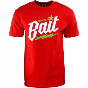 BAIT Superior BAIT Tee (red / white / green)
