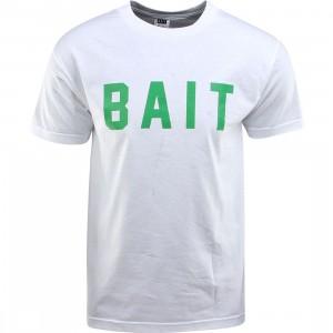 BAIT Logo Tee (white / green)