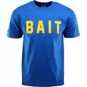 BAIT Logo Tee (blue / royal blue / yellow)