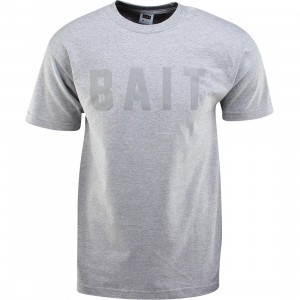 BAIT Logo Tee (gray / heather gray / gray)