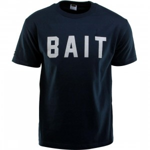 BAIT Logo Tee (navy / gray)