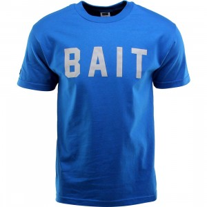 BAIT Logo Tee (blue / royal blue / gray)