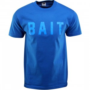 BAIT Logo Tee (blue / royal blue / blue)