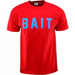 BAIT Logo Tee (red / blue)