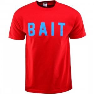 BAIT Logo Tee (red / blue)