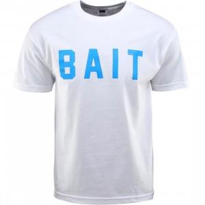 BAIT Logo Tee (white / blue)