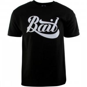 BAIT Script Logo Tee (black / gray)
