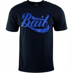 BAIT Script Logo Tee (navy / blue)