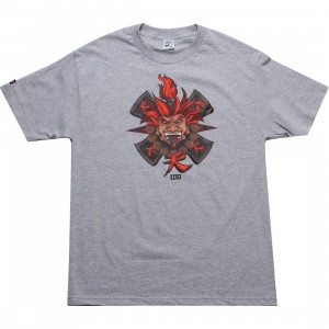 BAIT x Street Fighter Akuma Tee - Jesse Hernandez (athletic heather)