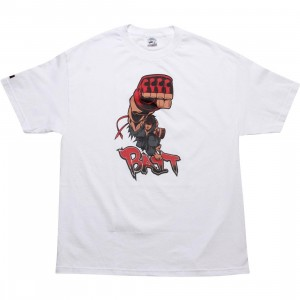 BAIT x Street Fighter Evil Ryu Shoryuken Tee - Tracy Tubera (white)