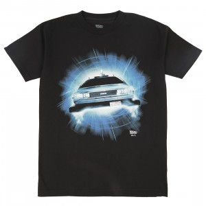 BAIT x Back To The Future Men DMC Delorean Future Tee (black)