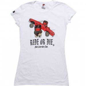 BAIT x Domo Women Low Rider Tee (white)